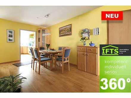 Eine sichere Entscheidung. Tolle Wohnung, sehr gute Lage, hochwertig renoviert, EBK, Parkett, Garage