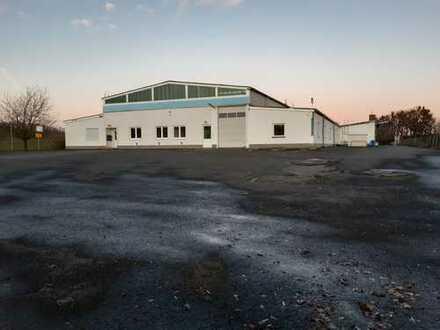 Hallen,- Lager,- Produktionsfläche mit Büroflächen zu vermieten