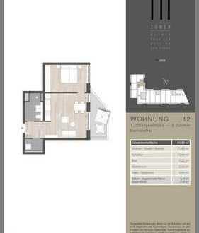 790 €, 51 m², 2 Zimmer