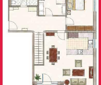 3,5-Zimmer-Erdgeschoßwohnung inkl. ausgebautem Hobbraum im Zentrum von Taufkirchen!