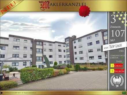 +++ NEU +++ 107m² Wohnung mit großem Sonnenbalkon und vieen Extras in Dülmen