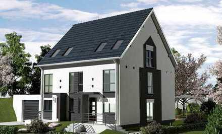 Neubau eines Doppelhauses in Marl-Hamm