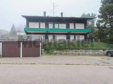 Idyllisch leben im Schwarzwälder Hochtal: Gepflegte 2-Zimmer-Eigentumswohnung mit Balkon