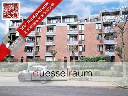 Gerresheim:4-Zimmer Maisonettewohnung mit Südwest-Garten, Loggia und TG-Stellplatz