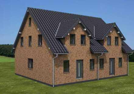 Neubau-Doppelhaushälfte in bevorzugter Lage von Aurich - Extum (Kreis Aurich)