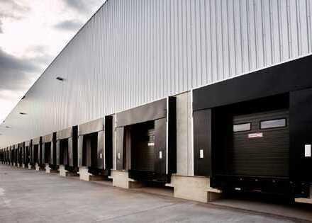 Spekulativer Neubau einer Logistikimmobilie an der A2