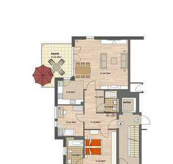 ++ Neubau: hochwertig ausgestattete Wohnung mit großem Balkon! ++