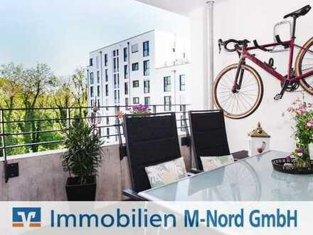 Neuwertige 4-Wohnung mit Blick ins Grüne in Unterschleißheim