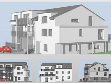 Erstbezug: Exklusive 2,5-Zimmer Dachgeschosswohnung mit Balkon