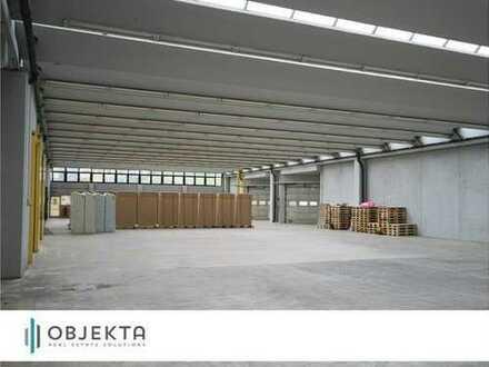 +++ 1.100 m² Lagerfläche mit Rampenandienung - Anschluß A 8+++