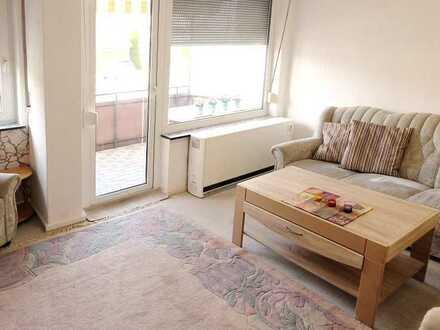 **Möblierte 3-Zimmer-Wohnung mit Balkon für Paare - ab sofort**