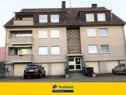 Mülheim-Styrum - gepflegte 3-Zimmer-DG-Wohnung mit Balkon PLUS ca. 94 m² ausbaufähiger Spitzboden!!