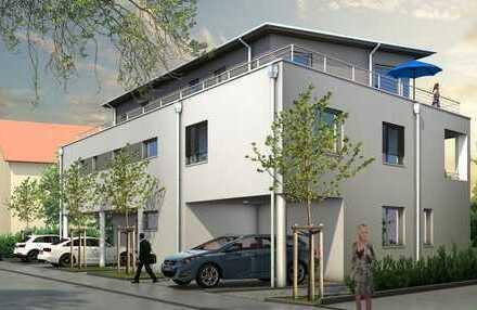 Erstbezug - exklusive 3-Zimmer-Penthouse-Wohnung mit großer Dachterrasse in der Stadt-Au