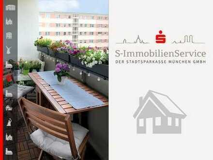 Sanierte, attraktive 3-Zimmer-Wohnung mit sonnigen Loggien