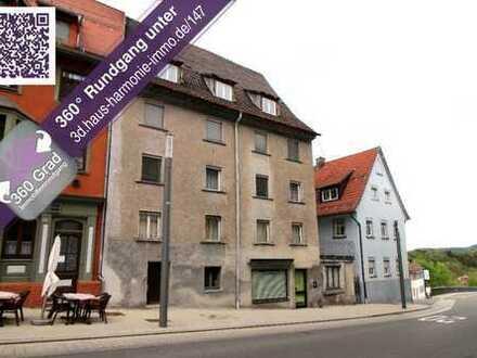 Wohn- und Geschäftshaus in der historischen Innenstadt Rottweils!