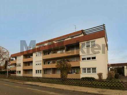 Ruhig, zentral, barrierearm: 3-Zimmer-ETW mit großer Dachterrasse und Tiefgaragenstellplatz