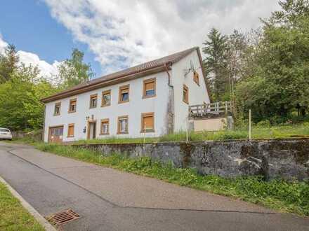Sanierungshaus in ruhiger Randlage von Klettgau (Reutehof)