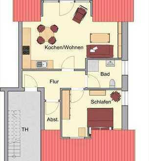 Vermietung - Gemütliche Dachgeschoss-Wohnung mit Balkon in Borken