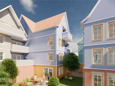 """3,5-Zimmer-Wohnung im neuen """"Tauberquartier"""" im 2. Obergeschoss mit Balkon (WHG B07)!"""