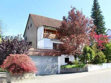 SNH-Gartenstadt: Großes Einfamilienhaus mit Potential und unverbaubarem Steinsbergblick (# 4023)