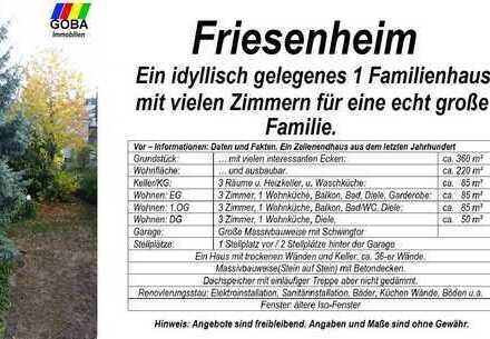 Friesenheim 2019/großes EFH/MFH evtl ELW/Garage/Stellplätze/Garten/gute Verkehrsanbindung/ BASF