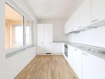 Traumhafte 4-Zi-Wohnung 107qm mit Einbauküche und Loggia!