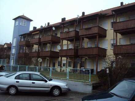 2 Zimmer Wohnung mit Tiefgaragenstellplatz, Balkon und Kellerraum in Burgau