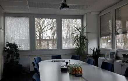 frisch renovierte Bürofläche