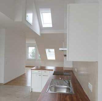 Exklusive, neuwertige 2-Zimmer-Penthouse-Wohnung mit Balkon und Einbauküche in Bonn