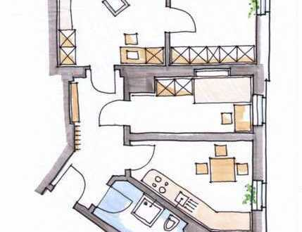 Gepflegte, sehr helle 3-Zimmer-Wohnung in Dresden