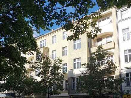 Berlin-Charlottenburg: Schöne 4 Zimmer-Kapitalanlage mit Balkon nahe Lietzensee - 1,6% Rendite