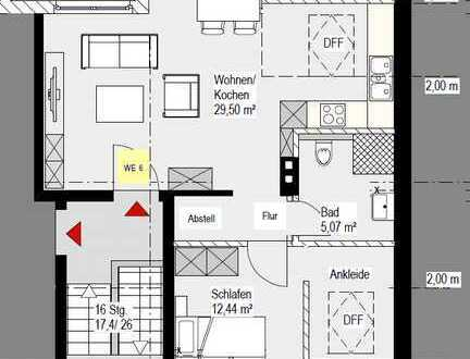 Gemütliche 2,5-Zimmer Dachgeschosswohnung