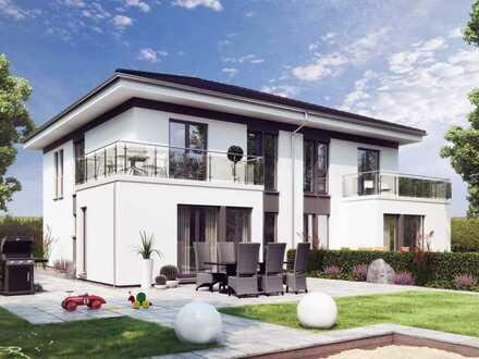 2 Doppelhäuser mit tollem Grundstück!