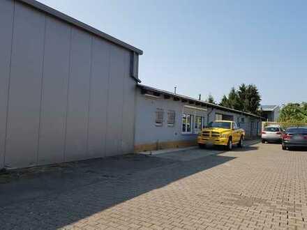 Ingelheim Nord - Gewerbegebiet: Halle mit Wohnhaus