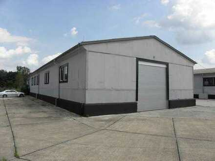 480m² Lagerhalle mit Rolltor, Freifläche ab 500m² bis 2000m² in Fehrbellin Direkt A24