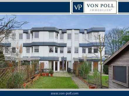 Urbanes Wohnen in Gerresheim - Splitlevelreihenhaus in Waldrandlage