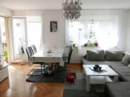 Ruhige, gepflegte 3-Zimmer-Wohnung mit großem Südbalkon in Mosbach