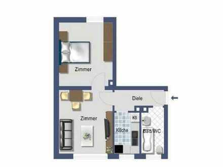 Schöne, sanierte 2-Zimmer-Wohnung zur Miete in Essen - Kupferdreh
