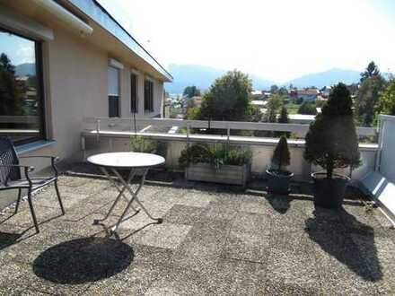 Sehr schöne 2 Zi. Wohnung mit großer Dachterrasse in Oy-Mittelberg
