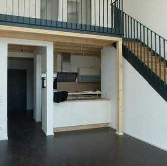 Schönes 2 Zimmer-Loft (80 qm) mit Galerie, Blick in die Fränkische Schweiz