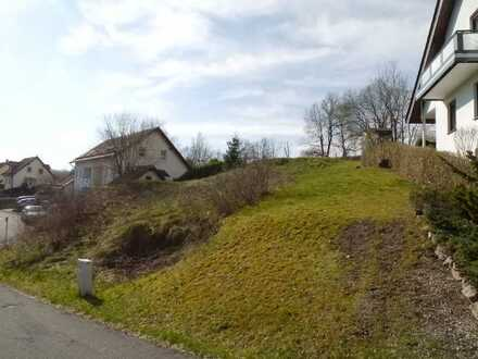 Baugrundstück in Zella-Mehlis OT Benshausen