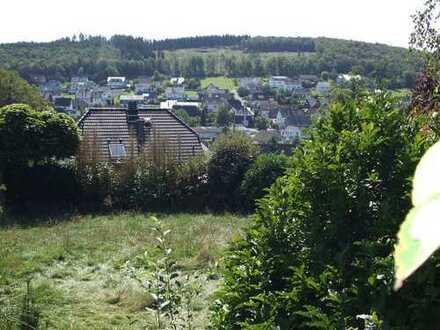 Top-Grundstück in ruhiger Südlage und mit klasse Fernsicht am Ortsrand von GERNSDORF !