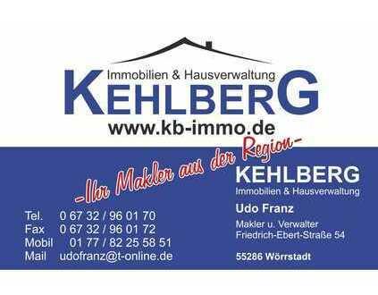 Kehlberg Immobilien - Ihr Makler aus der Region ! Gepflegte Doppelhaushälfte in Wörrstadt