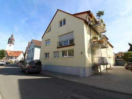 Attraktive, großflächige 4-Zimmerwohnung mit Balkon im Herzen von Pfungstadt