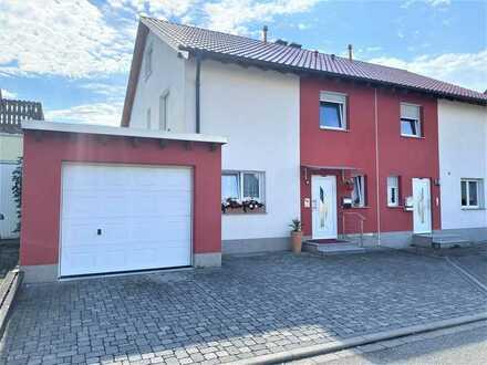 Gemütliche Doppelhaushälfte mit Garage in der Malteserstadt Heitersheim
