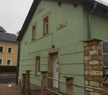 135 m² große, idyllische Terrassen-Wohnung in Liegau-Augustbad