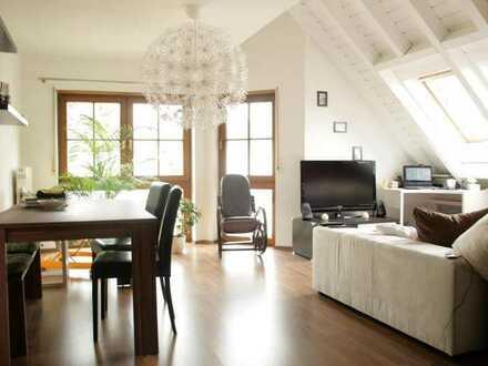 Attraktive 2 1/2 Zimmer Maisonette-Wohnung zentrumsnah in Sinsheim
