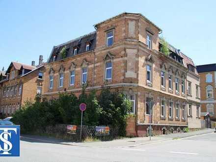 teilsaniertes Wohn- und Geschäftshaus mit Anbau und 6 WE in Plauen