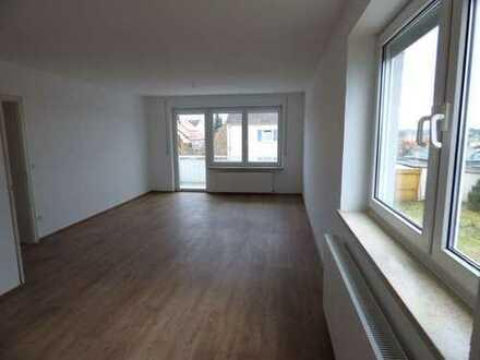 3 Zimmer- Wohnung mit Südbalkon, Garten und Garage