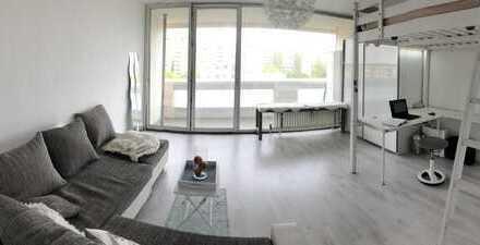 Helle, moderne 1-Zimmer-Wohnung in Frankfurt am Main